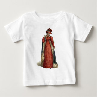 Red Regency Lady Baby T-Shirt