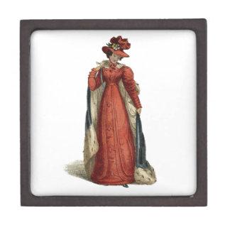 Red Regency Lady Gift Box