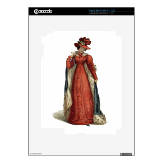 Red Regency Lady Skins For The iPad 2