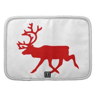 Red Reindeer / Caribou Silhouette Planner