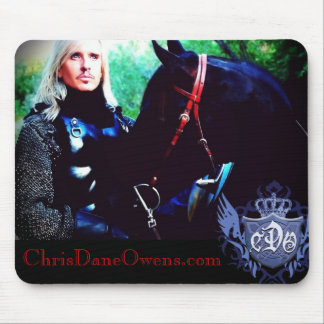 RED REINS-Mousepad- Chris Dane Owens Mouse Pad