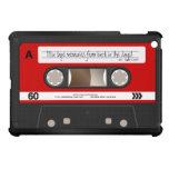 Red Retro Cassette Tape Personalized Case For The iPad Mini