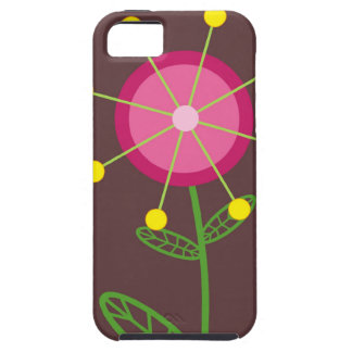 Red Retro Flower Case-Mate Case iPhone 5 Cover