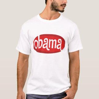 Red Retro Obama T-shirt