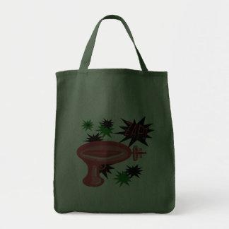 Red Retro Raygun Bag