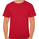 Red Retro Tuxedo Shirt