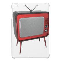 Red retro TV Case For The iPad Mini