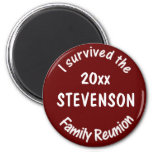 Red Reunion Magnets