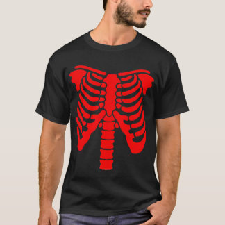 RED RIB CAGE AND SPINE! T-Shirt