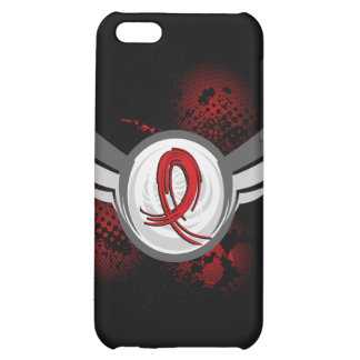 Red Ribbon And Wings Heart Disease iPhone 5C Cover