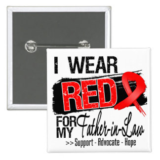 Red Ribbon Awareness - Father-in-Law Pins
