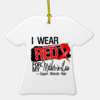 Red Ribbon Awareness - Mother-in-Law Ornament