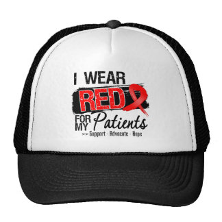 Red Ribbon Awareness - Patients Hats