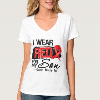 Red Ribbon Awareness - Son T-shirt