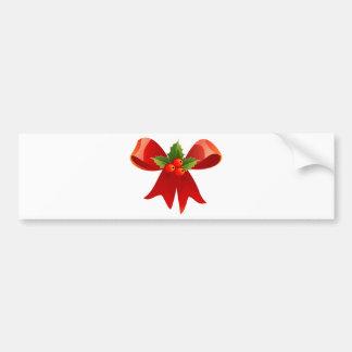 Red Ribbon Bumper Sticker