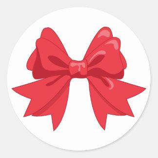 Red Ribbon Envelope sticker