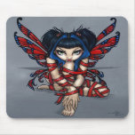 """Red Ribbon Fairy"" Mousepad"