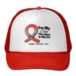 Red Ribbon For My Hero My Son Hat