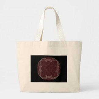 Red Ribbon Fractal Art Design Bags
