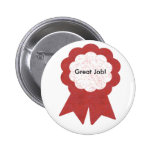 Red ribbon, Great Job! button