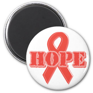 Red Ribbon - Hope Magnet