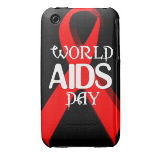 red ribbon iPhone 3 case
