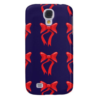 red ribbon purple background samsung galaxy s4 covers