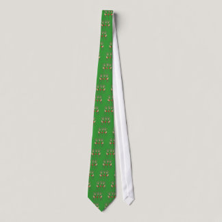 Red Ribbon Reindeer (Heart Disease & Stroke) Neck Tie