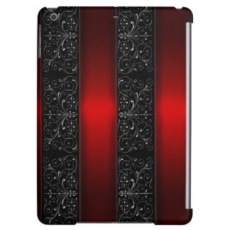 Red Ribbon Stripes Case For iPad Air