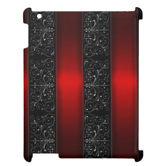 Red Ribbon Stripes Case For The iPad