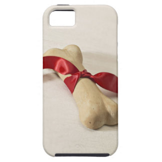 Red Ribbon Tied to Dog Treat iPhone SE/5/5s Case