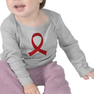 Red Ribbon Tshirt Gift