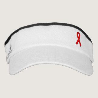 Red Ribbon Visor