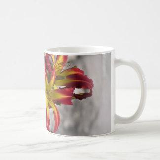 Red Ribbons - Daylilies Coffee Mug