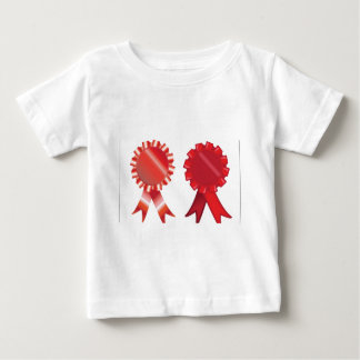 Red ribbons design baby T-Shirt