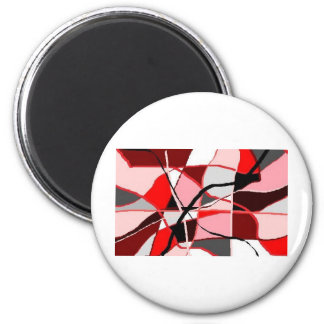 RED RIBBONS MAGNET