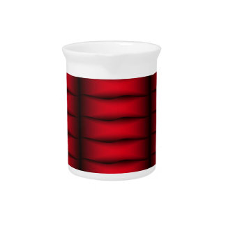 Red Ribbons Drink Pitcher