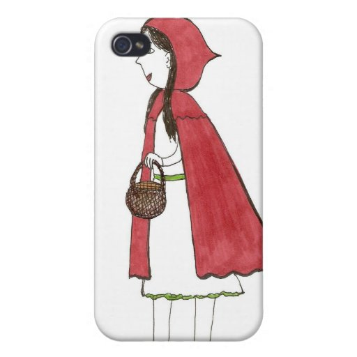 Red Ridding Hood iPhone 4 Cases