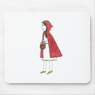 Red Ridding Hood Mouse Pad