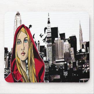 Red Ridin' Hood Mouse Pad