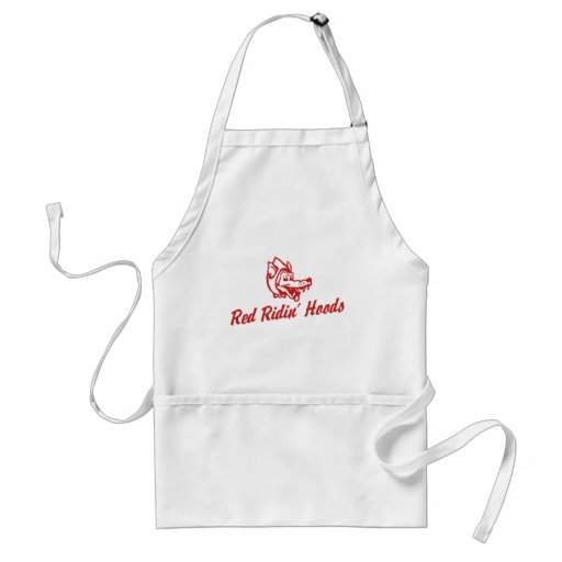 Red Ridin' Hoods Adult Apron