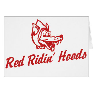 Red Ridin' Hoods Card