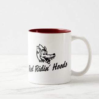Red Ridin' Hoods Two-Tone Coffee Mug