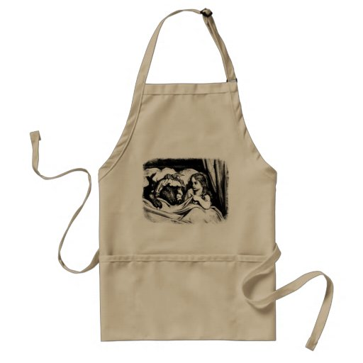 Red Riding Hood Adult Apron