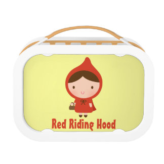 Red Riding Hood and Big Bad Wolf for Kids Lunch Box