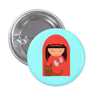 Red Riding Hood and The Big Bad Wolf Pin