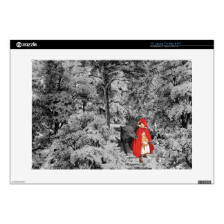 Red Riding Hood and the Wolf (BW) Skin For Laptop
