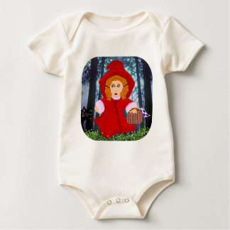Red Riding Hood Baby Bodysuit