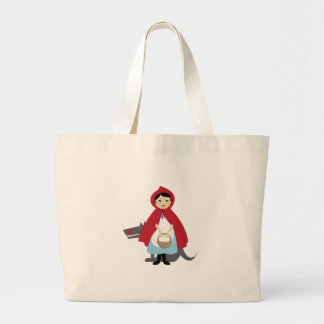Red Riding Hood Canvas Bags