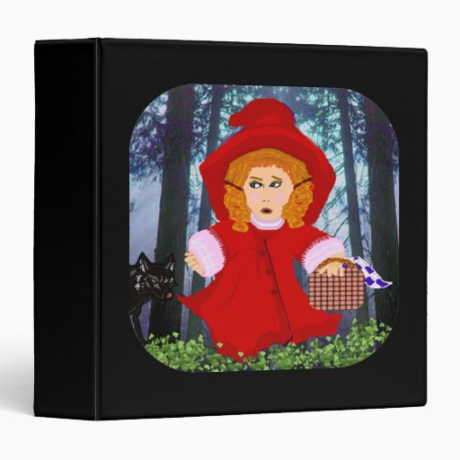 Red Riding Hood Binder